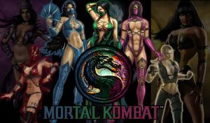 Mortal Kombat Hotties by Ahmani2011