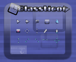 Glassticor - cursor by tchiro