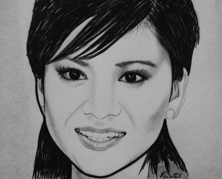 Katie Leung by kgpanelo