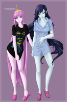Marcy and Bon sleep wear by Yureilia