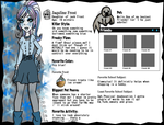 Monster high- Jaquline frost by Succubation