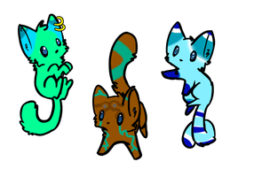 Free cat adopts! CLOSED by Madasaurus