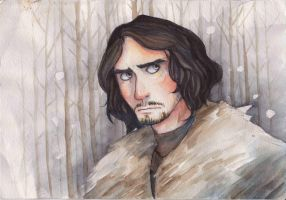 Jon Snow by El--Fox