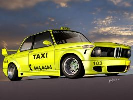 bmw 2002 taxi by hugosilva