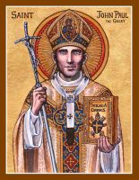 St. John Paul the Great icon by Theophilia