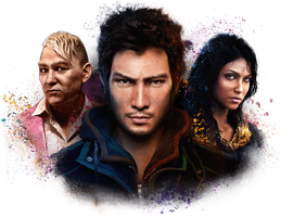 Farcry 4 Characters by Ashish-Kumar