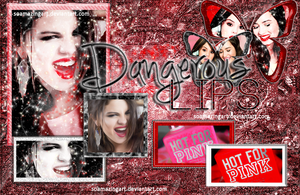 +Dangerous Lips PSD by HauntedOfLove