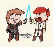 Really, Anakin? by SkywalkerGirl666