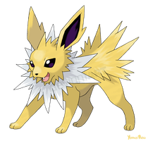 Voltali - Jolteon by AlouNea