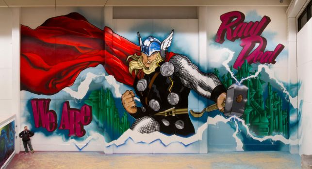 We Are Raw Deal - Thor production, February 2015 by Aamukaksi