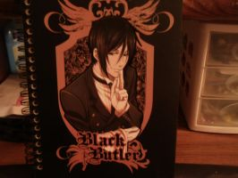 Black Butler Journal by Shippudenpro28