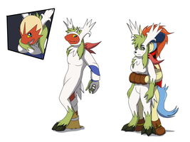 Comission: Shaymin TF TG Suit by Avianine