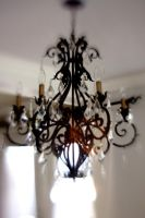 Crystal Chandelier Lensbaby VII by LDFranklin