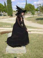 Gothic Witch 6 by HiddenYume-stock