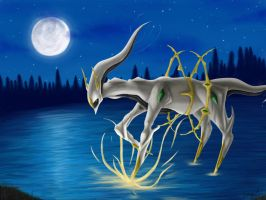 Arceus by DarknessProtection