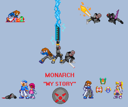 Monarch -My Story- Title by Dictator-Heartless