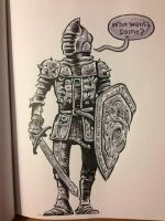 The Brave Knight by thegreck