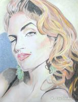 Cindy Crawford (pencil drawing) by eyeqandy