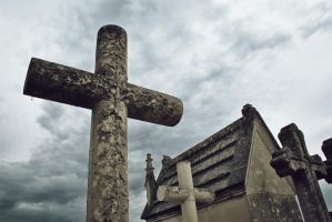 Cemetery crosses by AuroraxCore