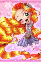 My Favorite Princess Rapunzel by LuciaAngelicUniverse