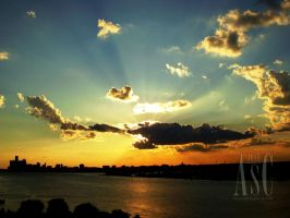 Striking Sunset by Pentacle5