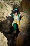 Toph Bei Fong - AGRESSIVE MODE by Sorel-Amy