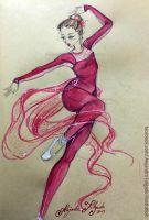 Red ballerina by Sweetbites91