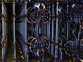 More fractal metalwork by PhotoComix2