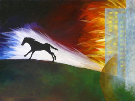 Horse_Expressionism by mystic-Portal
