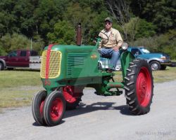 Oliver Tractor August 25, 2013 by Maggiesdaisy