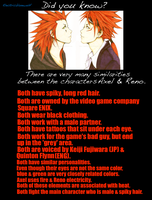 Did You Know? Axel and Reno by SpellboundFox