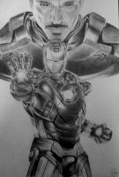 Iron man with Tony Stark by Anna655