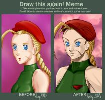 Draw this again Cammy by clvago