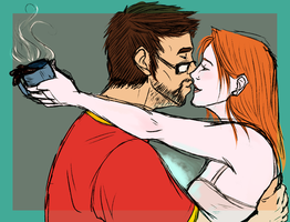 Iron Man: Pepperony by NancyStageRat