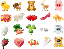 Free Cute Animals Icons set by FreeIconsFinder