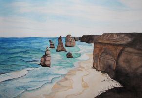 Twelve Apostles by Caz-Art