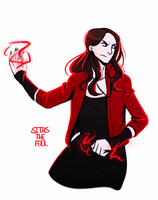 Scarlet Witch by Sitas-the-Fool