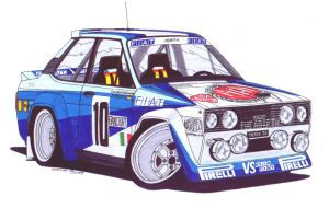 Walter Rohl - 131 Abarth by SquidInc