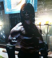 Farkas shirtless by lostangel1987