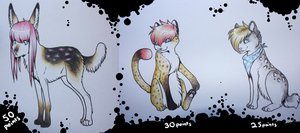 .: Point adoptables 29 - CLOSED :. by Supernova-adoptables