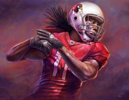 Larry Fitz by cgfelker