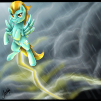 Lightning Dust by TheMoonfall