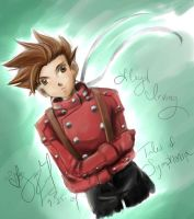 Tales of Symphonia - Lloyd by eeveelover
