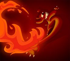 Fire Up, Charmeleon by sketchinthoughts