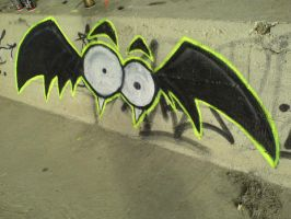 The first bat by javick