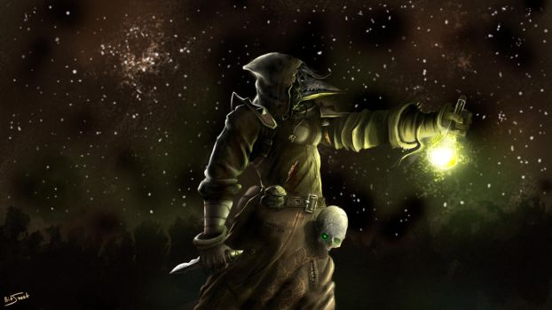 Maiev - Plague Doctor by BitSweet