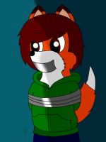 Happy taped foxy! by TheAshbringer