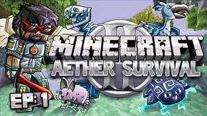 CaptainSparklez - Aether Thumbnail by FinsGraphics