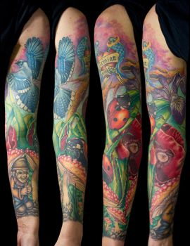 Gnome Sleeve by franknardi2