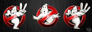 Ghostbusters logos by BrunoStrife